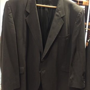 Other - Grey suit. Small hole in right shoulder.